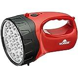 Lanterna 19 Leds Recarregavel Bivolt, Worker, 360678, Vermelho