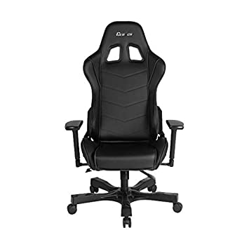 Clutch Chairz Crank Series Delta Black White Gaming Chair Black