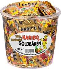 Haribo Gold Bears / Goldbären, 100 Mini Bags, 980g Tub by Haribo