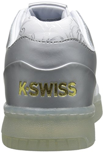 K-Swiss Gstaad - Zapatillas unisex Blanco / Plata