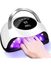 120W UV LED Nail Lamp - Faster Nail Dryer for Gel Nail Polish,UV Gel Polish Curing With 36 Light Beads & 4 Timer Setting,Professional Curing Lamp,Auto Sensor Nail Machine
