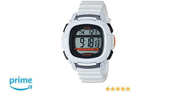 Amazon.com: Timex Mens TW5M26400 BST.47 White Silicone Strap Watch: Watches