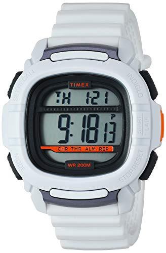 - Timex Men's TW5M26400 BST.47 White Silicone Strap Watch