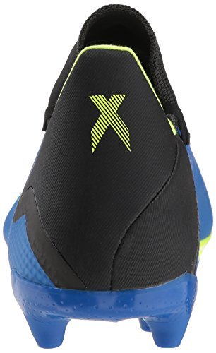 adidas X Shoe Men's M Black Ground US Solar Soccer 8 Football Firm 18 Yellow Blue 3 xF5xqwHr0