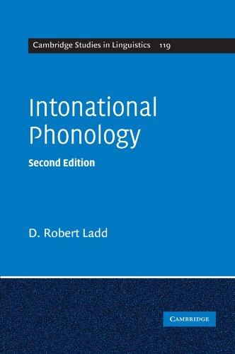 Intonational Phonology (Cambridge Studies in Linguistics)