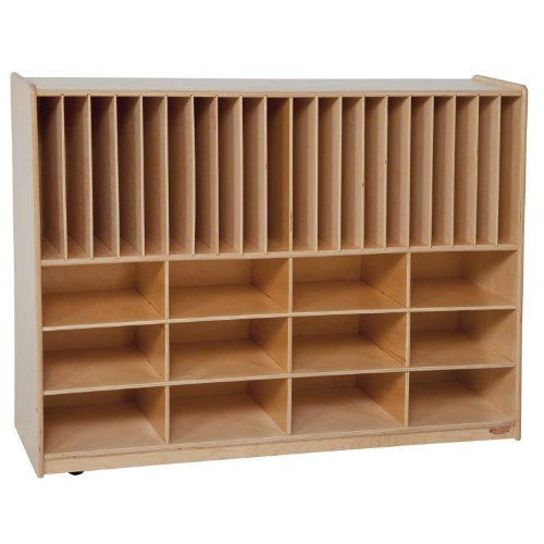 (Wood Designs 45089 Tip-Me-Not Portfolio Storage Without)