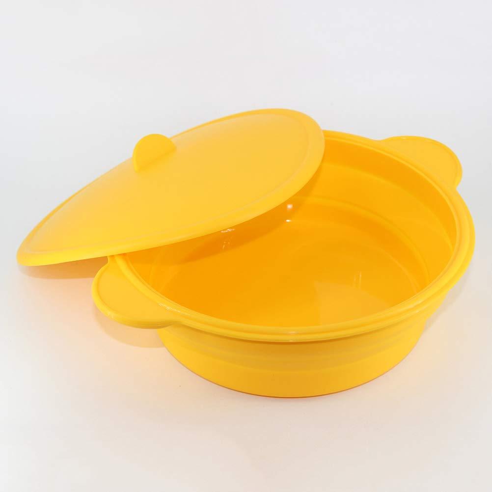 bestonzon silicona Pan cazo ensalada cuenco plegable cocina molde ...