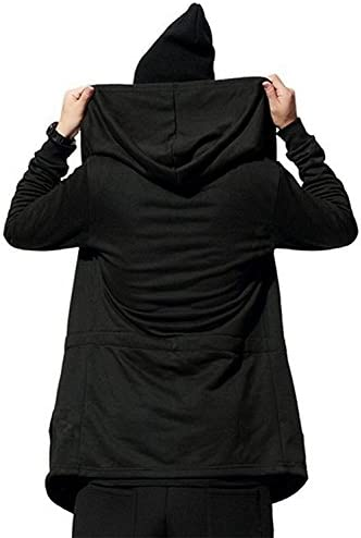 [ Smaids x Smile (スマイズ スマイル) ] カーディガン フード付き 長袖 コート ドレープ ロング ストリート オシャレ ちょいワルおやじ 半ズボン ポリエステル綿 ショールカラーセーター イカツイ 加圧 5l ハイネックパーカー 紳士用 トレンド ボタンなし 秋コーデ 爽やか ボタンあり カシミヤ ルームウェア モックネックニット 紳士 メンズ (M, グレー)