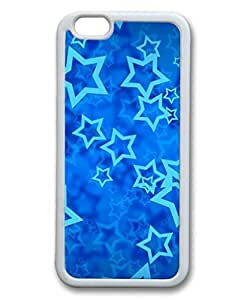 Cool Apple IPhone 6 Skin Custom 0059209_shining stars 5 case for iphone 647 tpu material white iPhone 6 4.7 Case