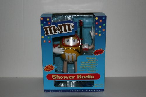 M&M's Shower Radio