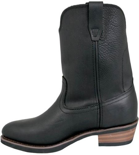Xelement Mens Western Style Heavy Top Grain Leather Boots - 11