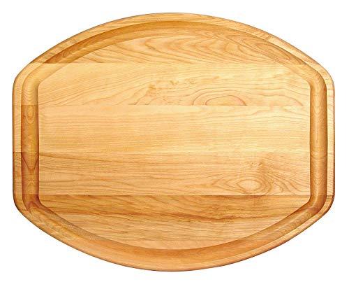 Catskill Craftsmen 13491 Reversible Wood Turkey Groove Cutting Board One Size