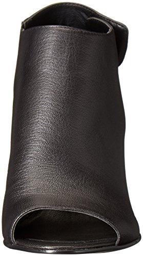Steve Madden Damen Nonstp Black Leather/Gold