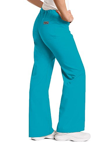 Landau Women's 9502 Urbane Relaxed Drawstring Pant Scuba Blue XS