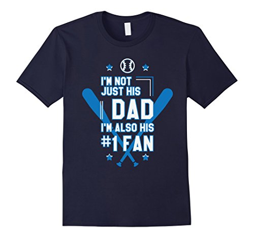 [Mens Best Fan Dad Baseball Stick Batting Goal Winner Gifts Shirts XL Navy] (Baseball Bat Man Costume)