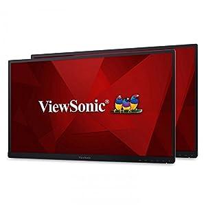 "ViewSonic VG2453_H2 24"" Dual Pack Head-Only IPS 1080p Frameless Monitors HDMI, DisplayPort"