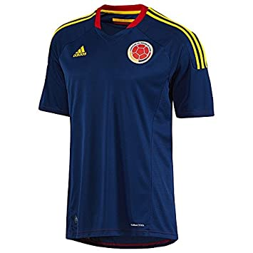 4ef9bb1ca7bcd Amazon.com : Adidas Colombia Away Jersey 2013 V08057 - Size S - M ...