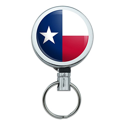 Metal Retractable Badge Holder State