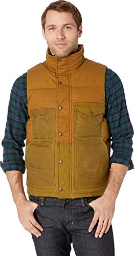- Filson Men's Down Cruiser Vest Dark Tan X-Large