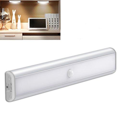 Motion Sensor Cabinet Light Night 850 mAh Battery,YIGER U...