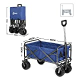 Sekey Folding Wagon Cart Collapsible Outdoor