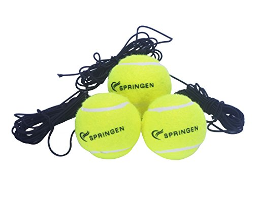 Springen 3 Pack Tennis Balls with Practice Training Sport