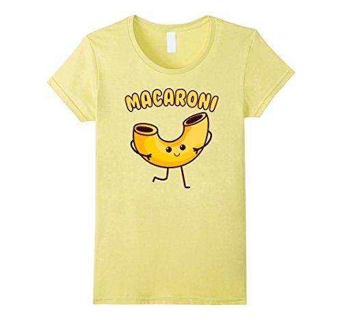 Easy Mac Halloween Costume (Womens Macaroni and Cheese Cute Couples Halloween Shirts 2017 Small Lemon)