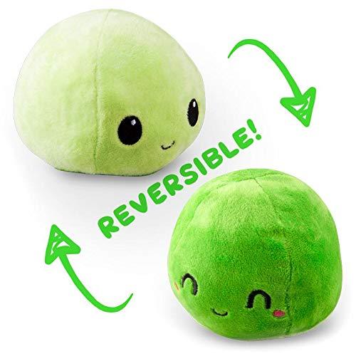 TeeTurtle Reversible Mochi Mini - Green Tea Plush Toys (Mini Green Tea Mochi)