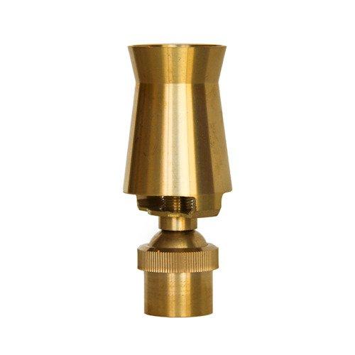 Aquacade Fountains Brass DN80 3'' Cascade Fountain Nozzle