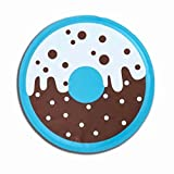 Celine lin Donut Style Cooling Mat for Small Dogs Cooling Pad Self Cooling Gel Cushion Keeping Pets Cool Sleeping Mat Non-Toxic Tiny Toy Size Dog Mat Floor Bed Car Sofa Etc