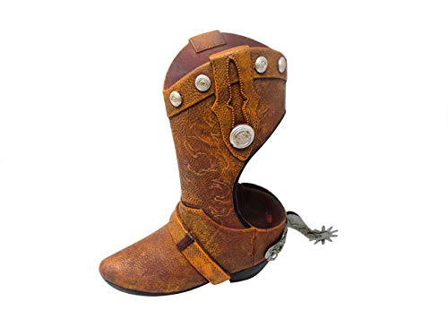 (Hilarious Home Cowboy Boot Bathroom Accessory Toilet Brush Holder)