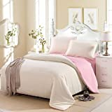 YiXinZhaiPei Cream cotton set of bumpers with 4 comfortable simple and modern , queen