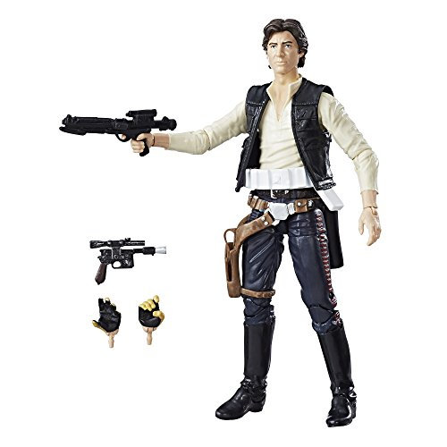 Star Wars The Black Series 40th Anniversary Han Solo 6 Inch Figure ()