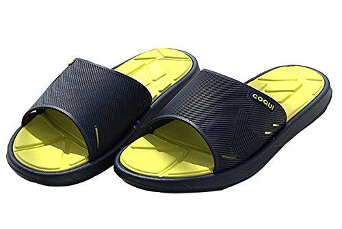 antideslizante zapatos uk malla 5 azul 5 empeine ducha casa On piscina para Zapatillas sandalias adultos 5 de de baño 6 Slip Slide azul Mule de AwYXqxC