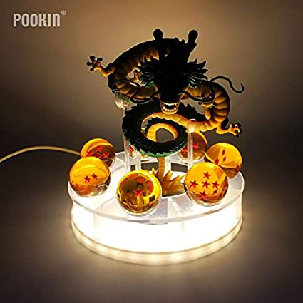 Amazon.com: Dragon Ball Lamp Son Goku Kamehameha - Lámpara ...