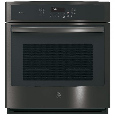 GE Profile PK7000BLTS 27 Inch 4.3 cu. ft. Total Capacity Electric Single Wall Oven with 2 Oven Racks in Black Stainless Steel