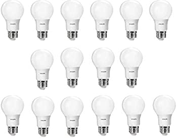 16-Pack Philips 60 Watt LED Light Bulb