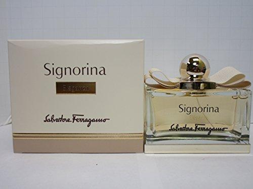 SALVATORE FERRAGAMO SIGNORINA ELEGANZA Eau De Parfum Spray FOR WOMEN 3.4 Oz / 100 ml BRAND NEW ITEM IN BOX - Gift Box Salvatore Ferragamo