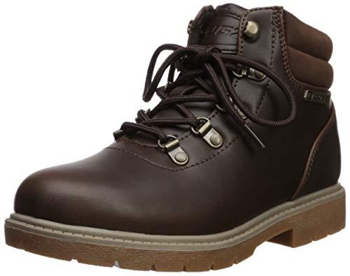 Lugz Women's Lynnwood Mid Fashion Boot, Dark Brown/Gum, 7 M US