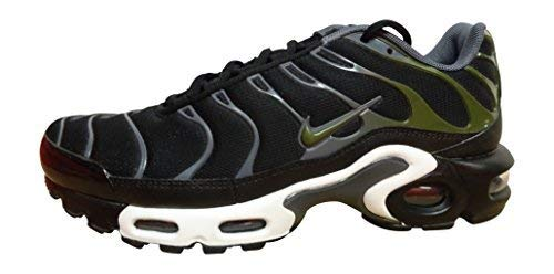 timeless design 2ada8 361f6 Galleon - NIKE Air Max Plus Mens Running Trainers 852630 Sneakers Shoes (US  7, Black Legion Green Dark Grey 007)