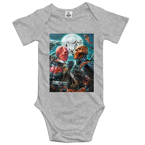 Eppedtul Deathstroke 0M-2t Baby Girls Boys Short Sleeve