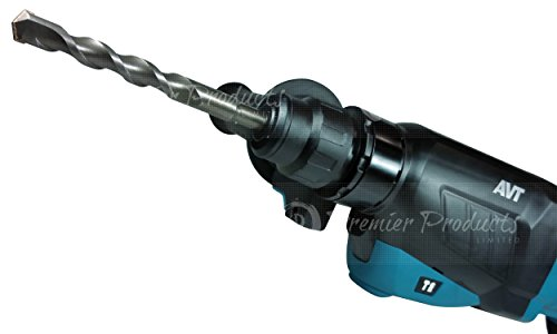 Makita 10 Piece - SDS-Plus Drill Bit Set For Rotary Hammers - Aggressive Drilling For Concrete & Masonry - Carbide Tipped Bits by Makita (Image #8)