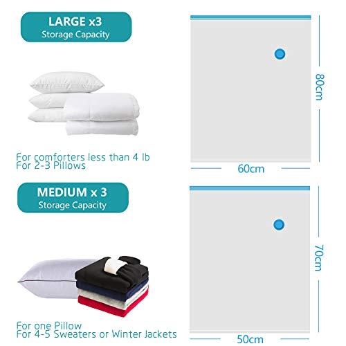 Amazon.com: XUTAI - Bolsas de almacenamiento al vacío para ...