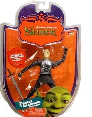 Shrek 3 Prince Charming the Vain Action Figure -
