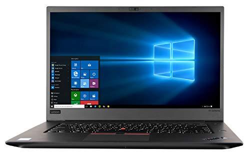 CUK ThinkPad X1 Extreme Thin & Lightweight Notebook (Intel i7-8750H, 64GB RAM, 2X 1TB NVMe SSD, NVIDIA GeForce GTX 1050 Ti 4GB, 15.6