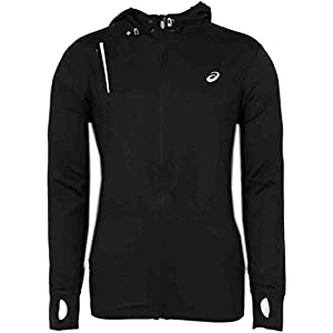 Asics Men's Thermopolis LT Thermal Lightweight Hoodie, Black, XX-Large