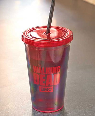 The Walking Dead® Drinkware ( Straw Cup )