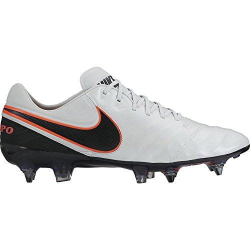 Platinum pr Calcio pro Sg Blk Tiempo hypr Weiß Scarpe blk Orange Da Uomo Nike Legend Vi Schwarz Orng IOx0O7R