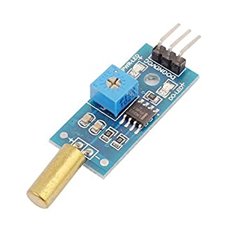 eDealMax inclinación Medición de ángulo del módulo de conmutador Sensor 3.3-5V DC Detector DE