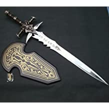 S1703 GAME ANIME WOW FROSTMOURNE ARTHAS MENETHIL SWORD 1:1 REPLICA W/ PLAIN PLAQUE 47""